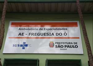 Ambulatório de Especialidades Freguesia do Ó na Freguesia do Ó